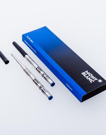 Montblanc 2 Kugelschreiberminen (Medium) Pacific Blue